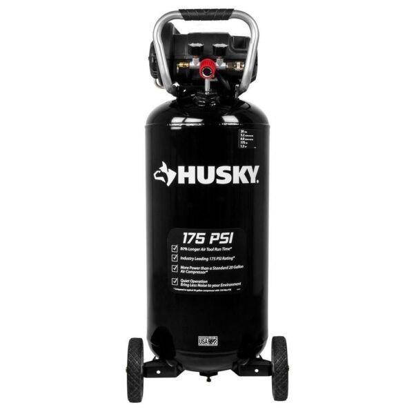 Husky C201h 20 Gal 175 Psi Quiet Portable Air Compressor