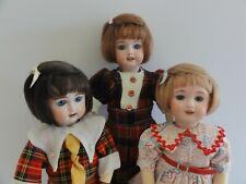"""repro dolls Aurélie style Mohair wig for Bleuette Antique Size 17 cm 6.7/"""""""