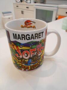 1999 JOE'S CRAB SHACK MUG-ORLANDO FL-WITH NAME MARGARET ...