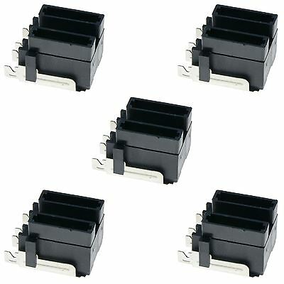 5 x Standard Automotive Blade Fuse Holder