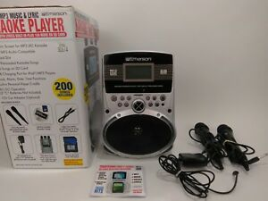 Details about Emerson Karaoke Player Portable MP3 Music and Lyric Model  SD514