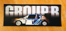 Group B Rally Cars Audi/Lancia/Metro/Ford/Peugeot Motorsport Sticker / Decal