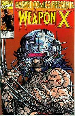 Marvel Comics Presents # 79 (Weapon X by Barry Windsor-Smith) (USA, 1991)