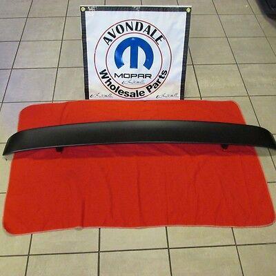 Dodge Challenger Go wing Spoiler rear decklid matte black OEM MOPAR