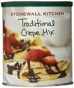 Stonewall Kitchen Traditional Crepe Mix, 16 Ounce , New, Free ...