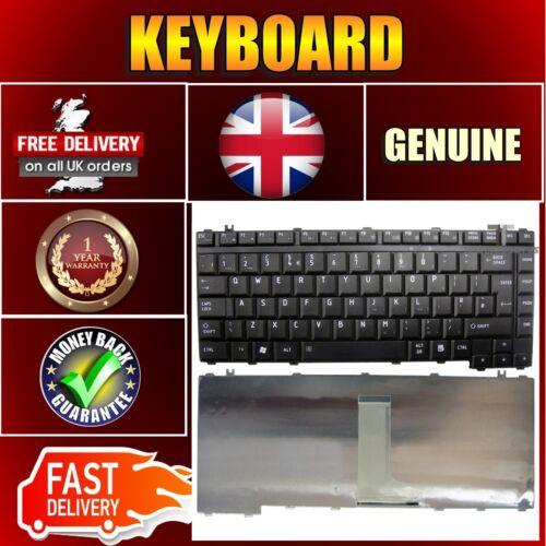 TASTIERA Laptop TOSHIBA per Satellite l300d-12l a200-1yk UK Layout Nero