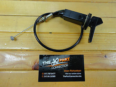 Ski-Doo Replacement Choke Cable MX Z 800 2000-2003 Snowmobile Part# 12-2156 OEM# 512059110