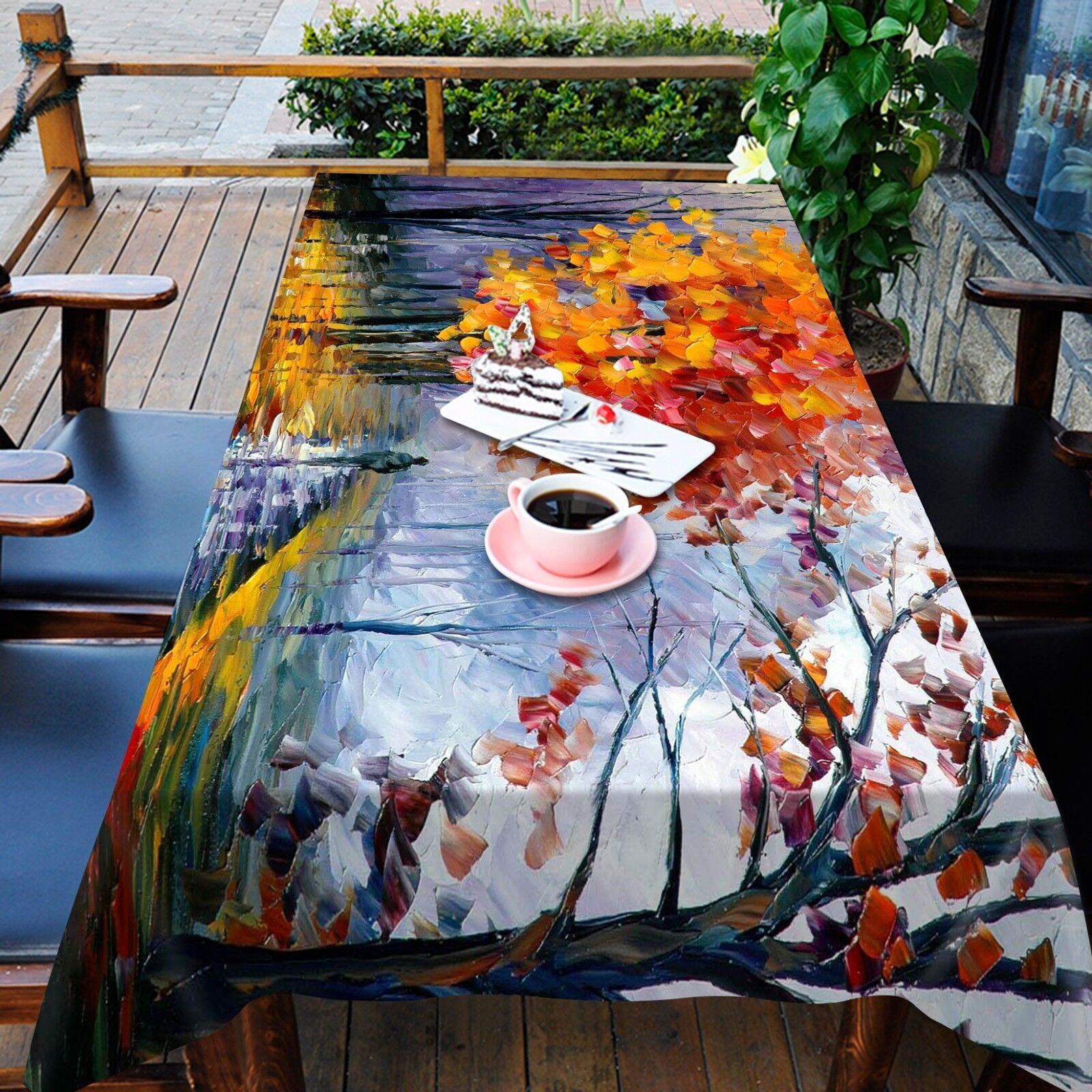 3D Painted 67 Tablecloth Table Table Table Cover Cloth Birthday Party AJ WALLPAPER UK Lemon ad41d2