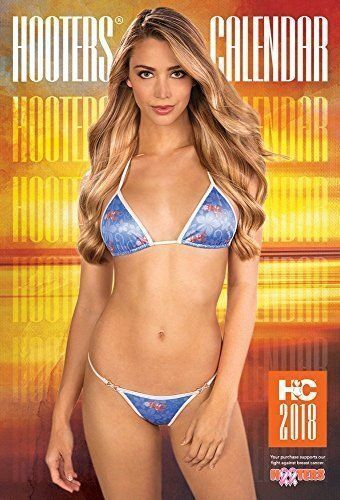 2018 Hooters Calendar with a bonus West /& Southwest Poster 3 Three