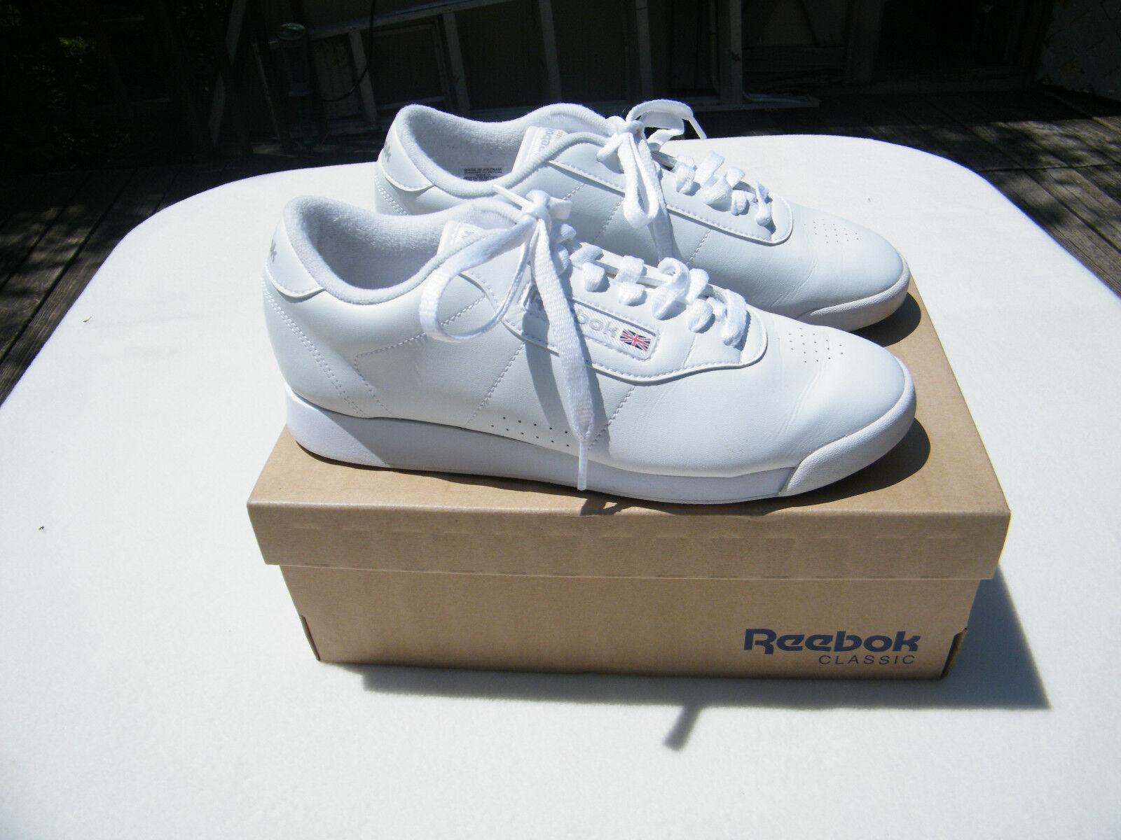Reebok Classic Princess White Athletic Walking shoes Size US 8 D ()