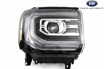 2017 2018 Gmc Sierra Denali Rh Pengers Side Led Headlight Embly 84046789