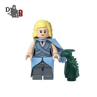 Game Of Thrones Cersei Lannister Minifigura Utilizando Lego /& a Medida Partes