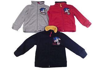 Boys Jacket Hoodie Sonic The Hedgehog 2 8 Years Old Ebay