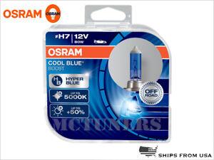 NEW OSRAM H7 COOL BLUE BOOST 5000K OFF ROAD BULBS 64210CBB-HCB 12VPACK OF 2
