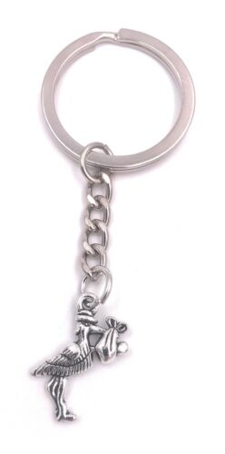 Storch Baby Kind Mutter Schlüsselanhänger Anhänger Silber aus Metall