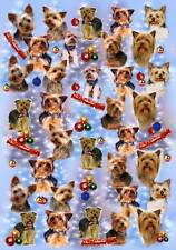 Yorkshire Terrier Dog Christmas Wrapping Paper by Starprint