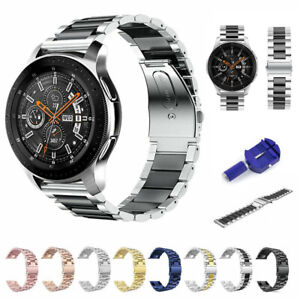 For-Samsung-Galaxy-Watch-42-46mm-Stainless-Steel-Watch-Band-Magnetic-Loop-Strap
