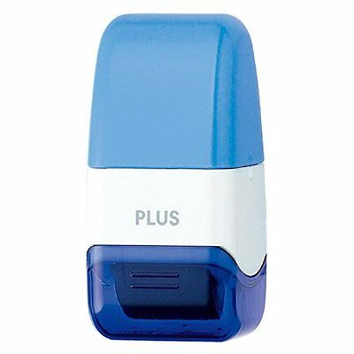 PLUS Kespon Guard Your Id Roller Stamp Mini Blue