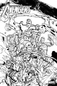 Marvel S Avengers Da Colorare Poster 24x36 Colore Proprio Poster