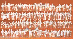 Preiser 16326 Various Jobs, 120 Unpainted Figures, H0