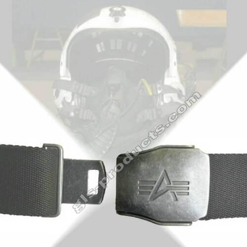 Schließe individuell einstellbar Alpha Industries Buckle Belt 176908  Flugzeug