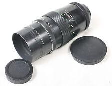 Pentacon 200mm f4 M42 mount Telephoto Lens. Bokeh Monster 15 aperture blades