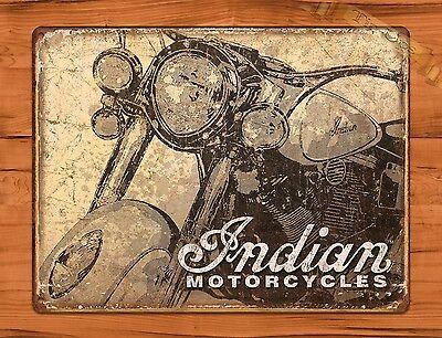 "TIN SIGN /""Ariel Motorcycle/"" Vintage Tire Garage Decor Shop"