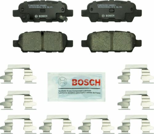 Disc Brake Pad Set-Quietcast Ceramic Pads with Hardware Rear Bosch BC905