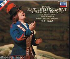 Donizetti: La Fille Du Régiment / Bonynge, Sutherland, Pavarotti, Sinclair - CD