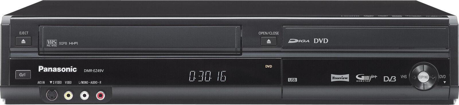 panasonic dmr ez49v dvd player ebay rh ebay co uk Panasonic DMR- EZ48V Panasonic DVD Recorder