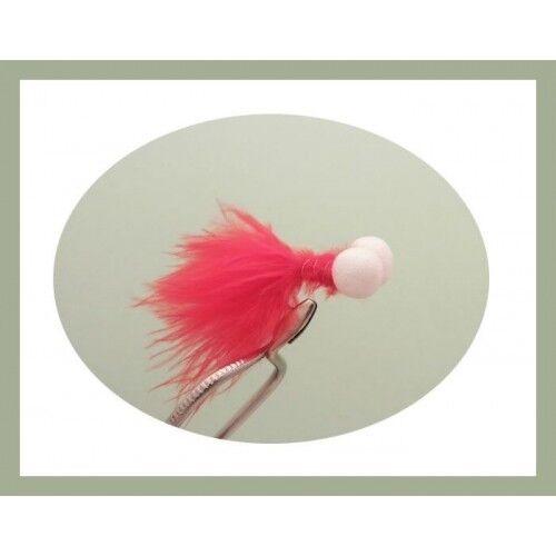 24 Per boxed set plenty of colour /& Design Booby Flies /& Foam Ass Fly Fishing