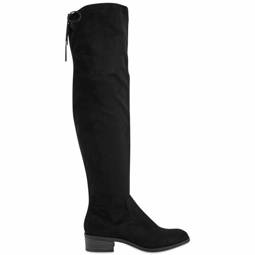 Marks Spencer Block Collection Boots Rrp £55 The Over Black M amp; Heel amp;s T028781a Knee rpwY5rqx