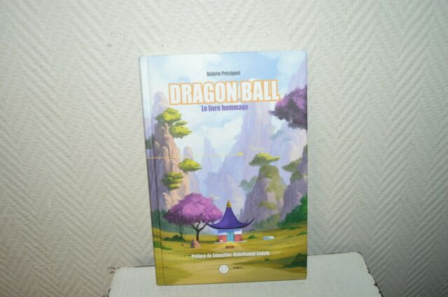 Livre Hommage DRAGON BALL Création univers décryptage heritaeg Third Neuf