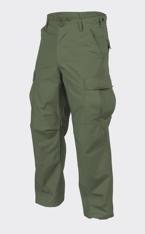 Helikon TEX US BDU COTTON Tempo Libero Pantaloni Outdoor Army Pants Oliva XLARGE Regular