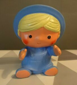 Vtg-Retro-Baby-Touch-Dolly-Drops-Baby-Squeaky-Toy-The-Mettoy-Co-Britain-12cm