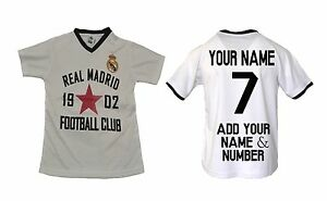 8d3ee58cb Image is loading Real-Madrid-Soccer-Jersey-Youth-Kids-Training-Add-