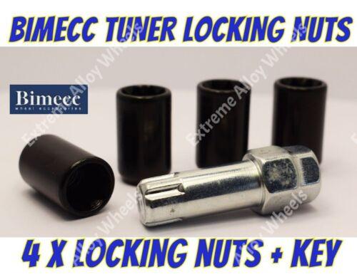 Locking Wheel Nuts B Tuner M12x1.5 Fits Slim Narrow Nuts For After-market Wheels