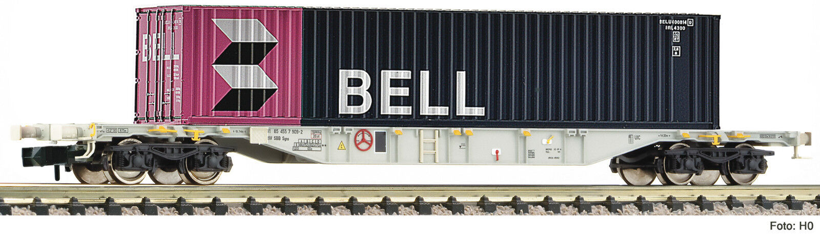 Fleischmann n 825208 contenedores Cochero SBB Bell contenedores época V nuevo embalaje original