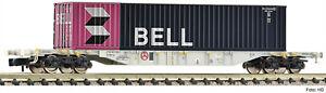 FLEISCHMANN-N-825208-Wagon-transport-de-conteneurs-SBB-CLOCHE-Container-epoque-V