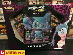 POKEMON-TCG-CHAMPIONS-PATH-HATTERENE-V-COLLECTION-BOX-CARDS-EXP-POST-IN-STOCK
