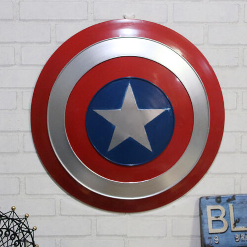 UK Avengers Captain America Shield For Cosplay 1:1 Scale Wall Hanging Decoration