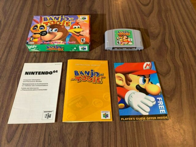 Banjo Tooie (Nintendo 64, N64) Complete in Box -- Authentic -- Tested