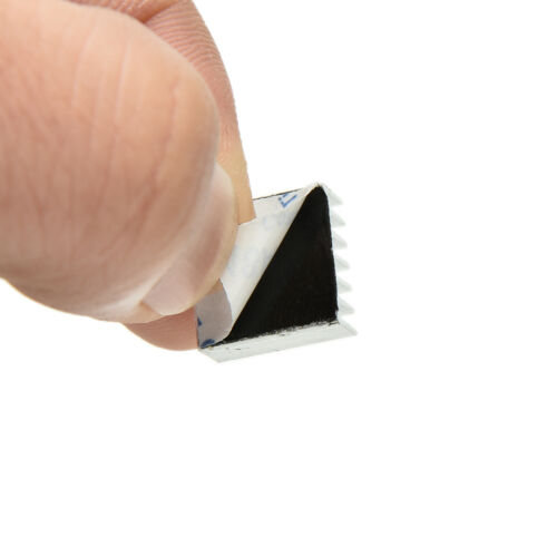 3PCS Set Aluminum Heatsink Cooler Adhesive Kit for Cooling Raspberry Pi 0hk