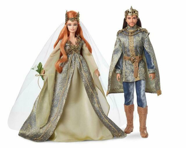 Nude Aphrodite Barbie Model Muse Faraway Forest Fairy Kingdom Wedding Doll