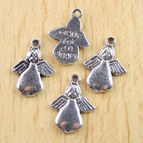 20pcs Tibetan silver angel charms h0328