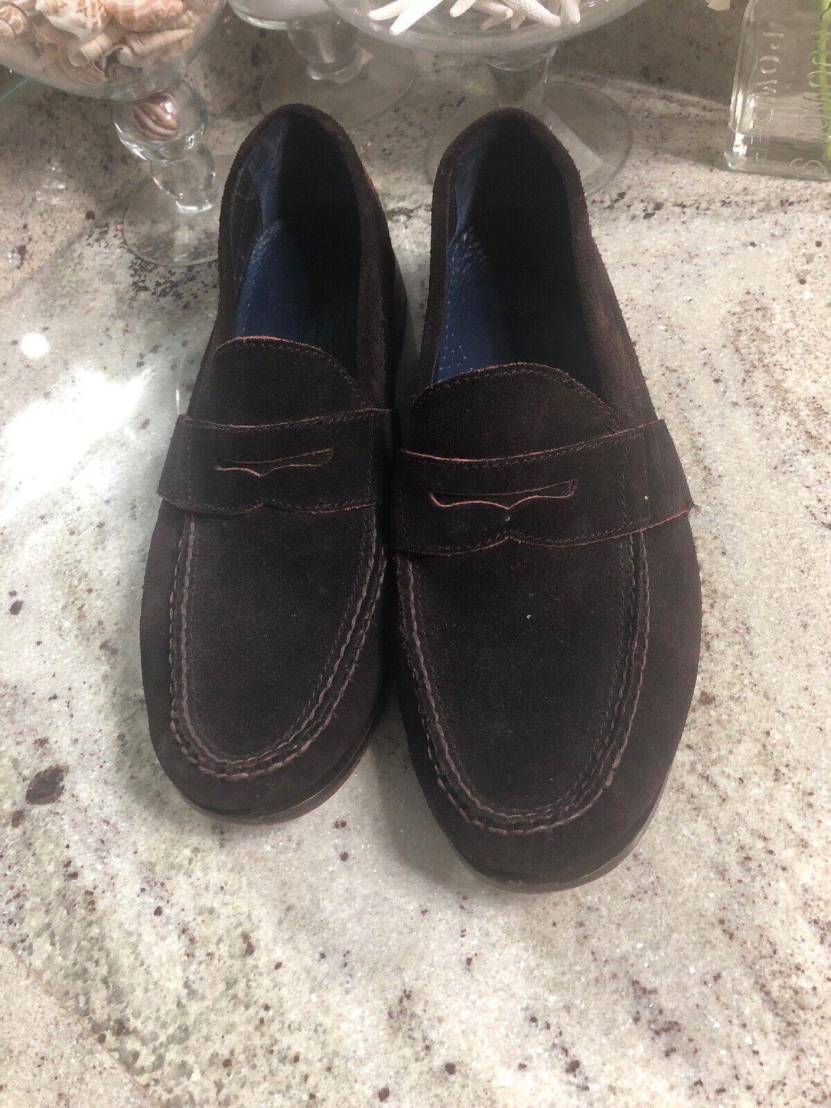 online economico Cole Haan  280 Marrone Marrone Marrone rosso  Suede Jefferson Penny Loafer scarpe Sz 12 M  a prezzi accessibili