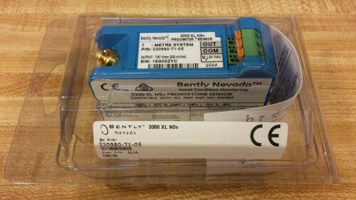 3309807105 NEW BENTLY NEVADA 330980-71-05 PROXIMITOR SENSOR 3300XL NSv