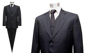 Muga-Herren-Anzug-3-teilig-Gr-24-Schwarz