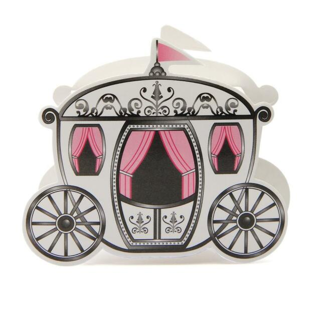 100 Fairytale Princess Carriage Candy Chocolate Gift Boxes Wedding Party Favor