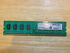 Crucial PC3-10600 2 GB DIMM 1333 MHz DDR3 SDRAM Memory (CT25664BA1339)